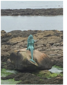 The Mermaid of the North, Fearn Peninsula